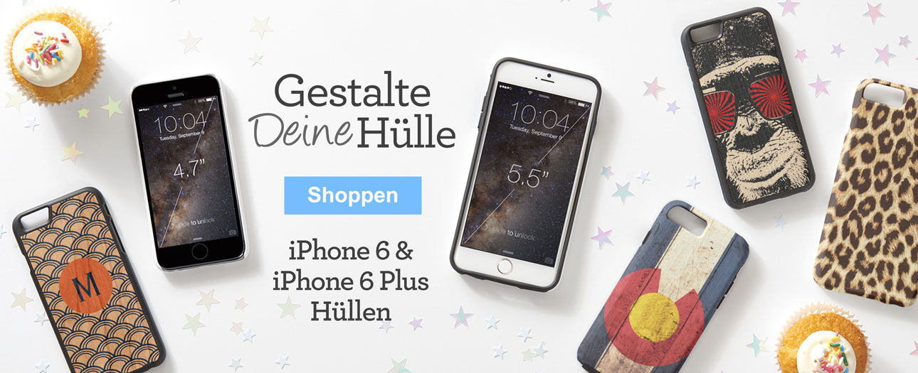 iphone 6 und iPhone 6 Plus Hüllen